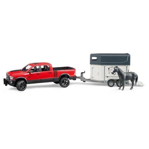 Bruder® Spielzeug-Auto »RAM 2500 Power Wagon mit Pferdeanhänger«
