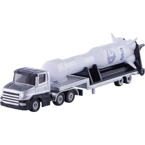 Siku Spielzeug-Auto »1614 Tieflader mit Rakete 1:55«