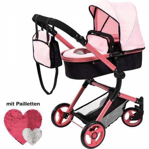 MyToys-COLLECTION Puppenwagen »Puppenwagen Pram City Vario von Bayer«