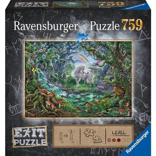 Ravensburger Puzzle »Puzzle Exit - Einhorn, 751 Teile«, Puzzleteile