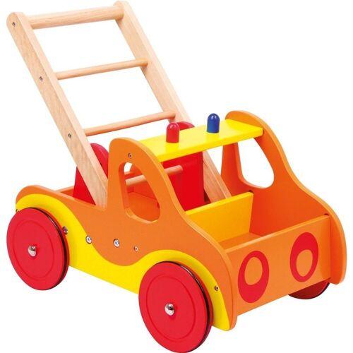 Small Foot Lauflernwagen »Kinder Feuerwehr - Holz Lauflernwagen«