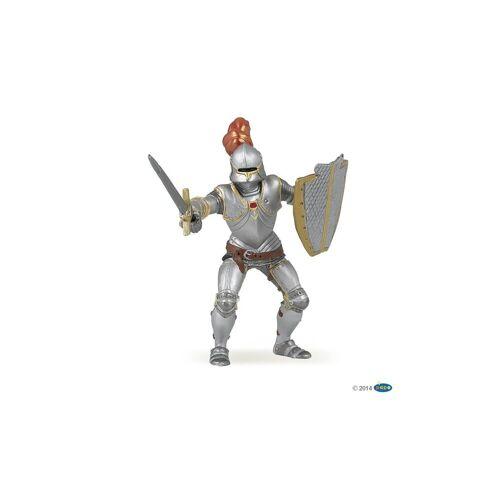 papo Spielfigur »Ritter in Rüstung mit roter Feder«