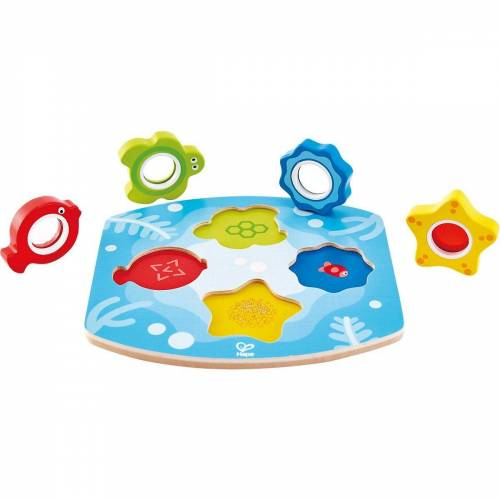 Hape Steckpuzzle »Meeres-Suchpuzzle«, Puzzleteile