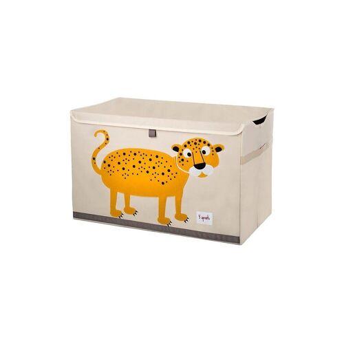3 Sprouts Aufbewahrungsbox »Aufbewahrungskiste Krokodil, 38 x 61 cm«, orange