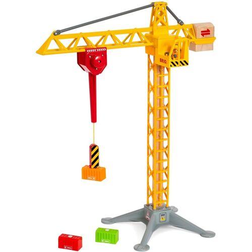 Brio Spielzeug-Kran »WORLD Großer Baukran mit Licht«