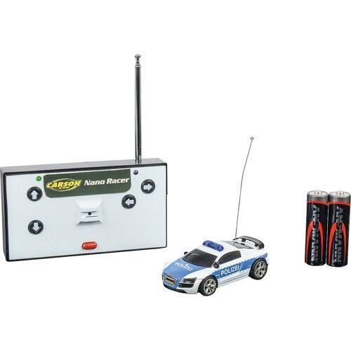CARSON Spielzeug-Auto »1:60 Nano Racer Polizei 40MHz 100% RTR«
