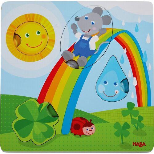 Haba Steckpuzzle »305345 Fühlpuzzle Maus«, Puzzleteile