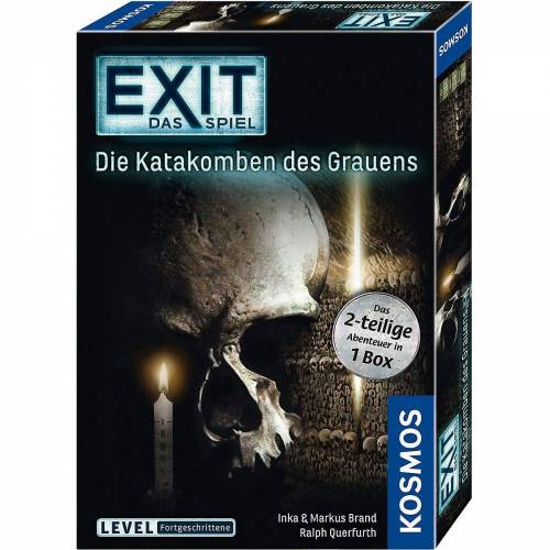 Kosmos Spiel, »EXIT - Das Spiel - Die Katakomben des Grauens«