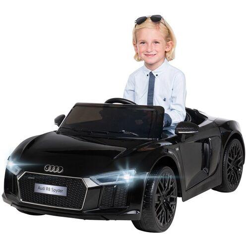 Actionbikes Motors Spielzeug-Auto »Kinder Elektroauto Audi R8«, inkl. Fernbedienung, Schwarz