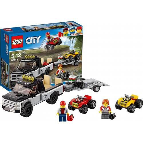 Lego Konstruktions-Spielset »LEGO 60148 City: Quad-Rennteam«