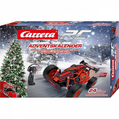 Carrera® Spiel, »Carrera RC Adventskalender - 2,4 GHz Car«