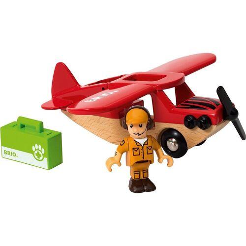 Brio Spielzeug-Eisenbahn »Safari Flugzeug«