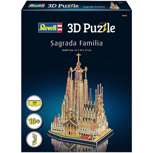 Revell® 3D-Puzzle »3D-Puzzle Sagrada Familia, 184 Teile«, Puzzleteile