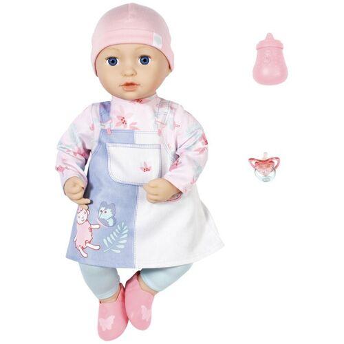 Baby Annabell Babypuppe »Mia, 43 cm«, mit Schlafaugen und Schnuller