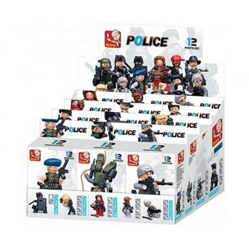 Sluban Actionfigur »Minifiguren in Box Polizei [M38-B0586] zufällige Auswahl Neu«, (1-tlg)
