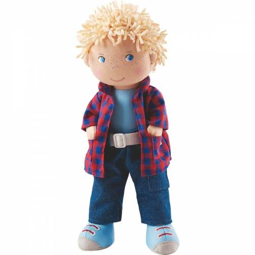 Haba Stoffpuppe »302843 Stoffpuppe Nick, 30 cm«