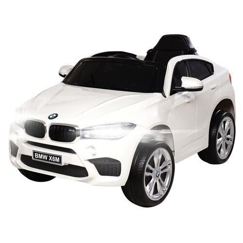 Actionbikes Motors Spielzeug-Auto »Kinder Elektroauto BMW X6M F16«, inkl. Fernbedienung, Weiß