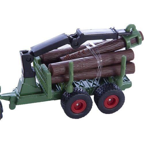 Siku Spielzeug-Auto »1645 Traktor mit Forstanhänger«