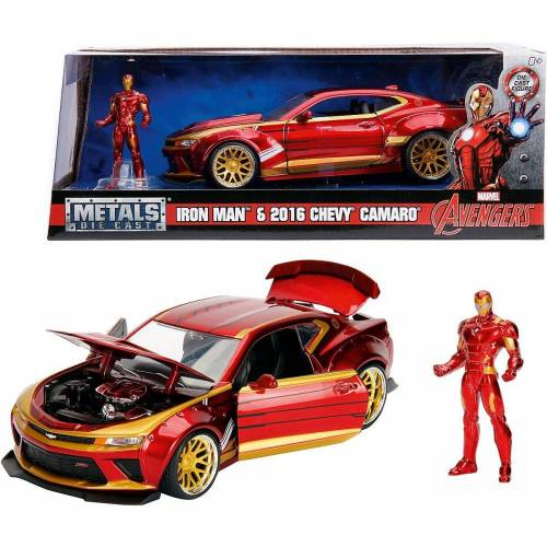 JADA Spielzeug-Auto »Marvel Ironman 2016 Chevy Camaro SS 1:24«