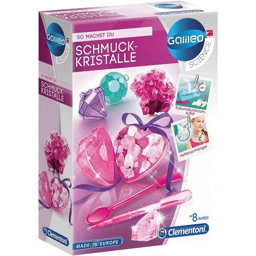 Clementoni® Lernspielzeug »Galileo - Schmuckkristalle«