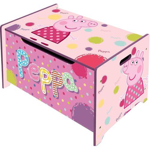 Peppa Pig Aufbewahrungsbox »Spielzeugtruhe aus Holz, «