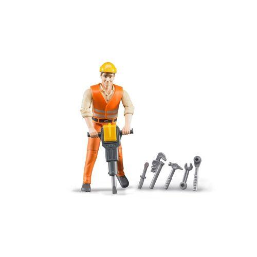 Bruder® Spielfigur »bworld Bauarbeiter«