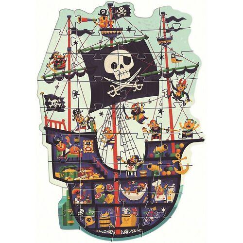DJECO Puzzle »Riesen-Puzzle Piratenschiff, 36 Teile«, Puzzleteile