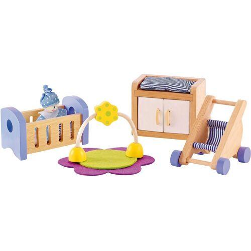 Hape »Puppenmöbel Babyzimmer« Puppenhausmöbel