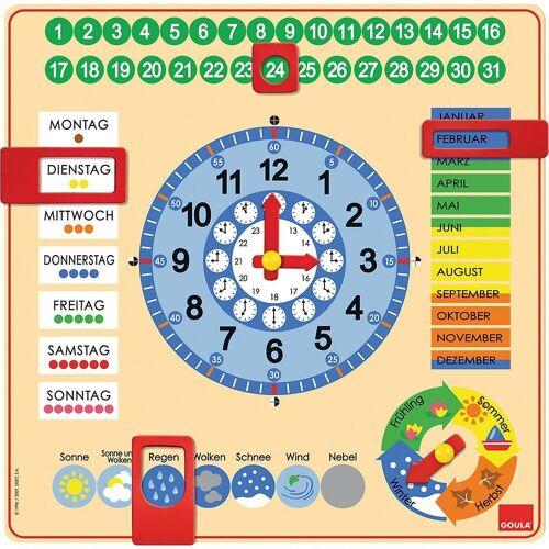 Goula Lernspielzeug »Kalenderuhr«