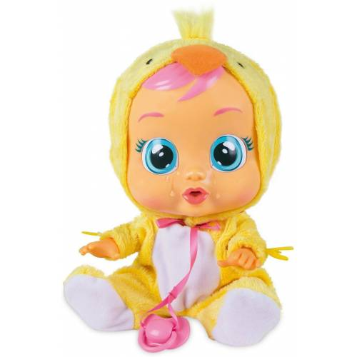 IMC TOYS Babypuppe »CryBabies LEA Funktionspuppe«, gelb/weiß