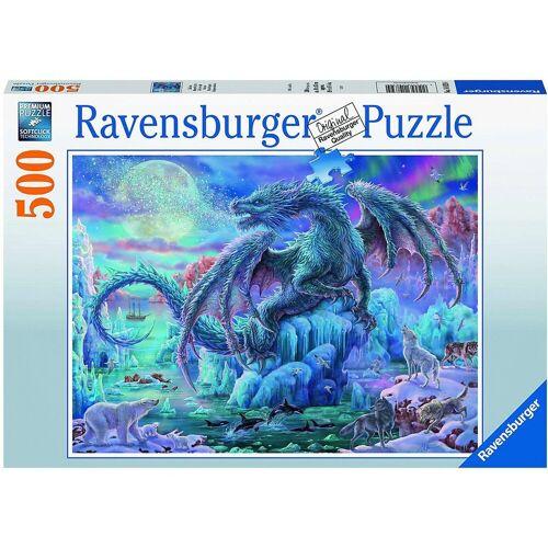 Ravensburger Puzzle »Puzzle Eisdrache, 500 Teile«, Puzzleteile