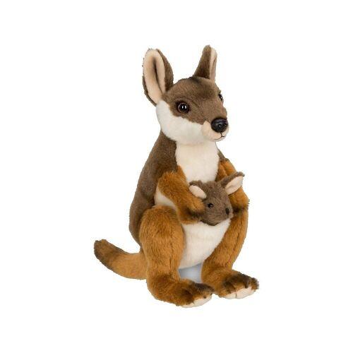 WWF Kuscheltier »Känguru mit Baby 19cm«