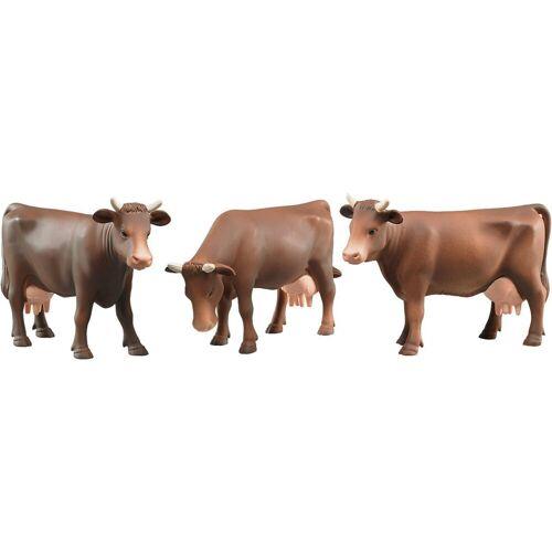 Bruder® Sammelfigur »BRUDER 2308 Kuh braun -3 fach sortiert-«