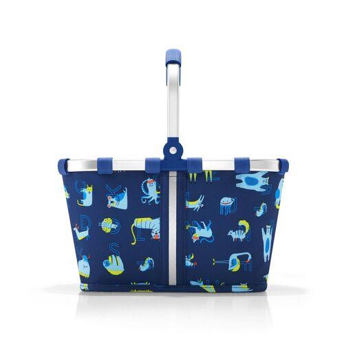 REISENTHEL® Einkaufskorb »Kindereinkaufskorb carrybag XS kids«, abc friends blue