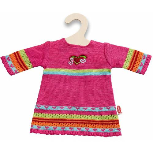 Heless Puppenkleidung »Strickkleid Hearty Gr. 28-35 cm, Puppenkleidung«