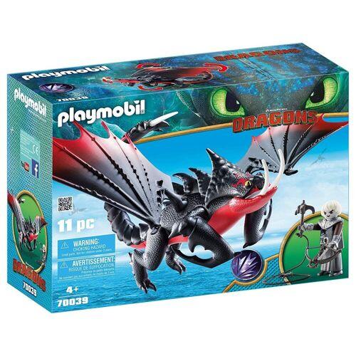 Playmobil Spielfigur »70039 - Dragons - Deathgripper mit Grimmel«