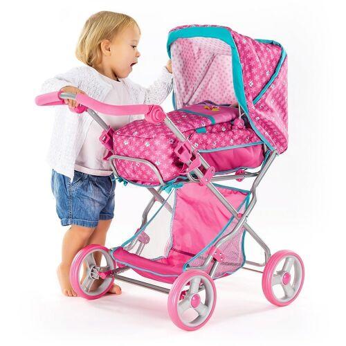 hauck TOYS FOR KIDS Kombi-Puppenwagen »Julia - Birdie«, (2-tlg), Kombi - Puppenwagen