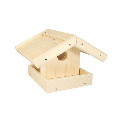 Nemmer Holzbaukasten »Holz-Bausatz Vogelhaus«