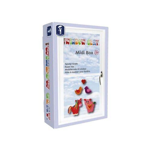 Feuchtmann Knete »Window Clay Midi-Box Fensterknete, 6 x 50 g«