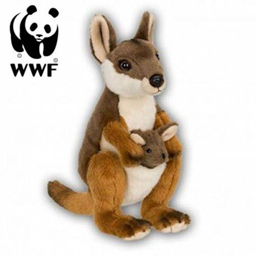WWF Plüschfigur »Plüschtier Känguru mit Baby (19cm)«