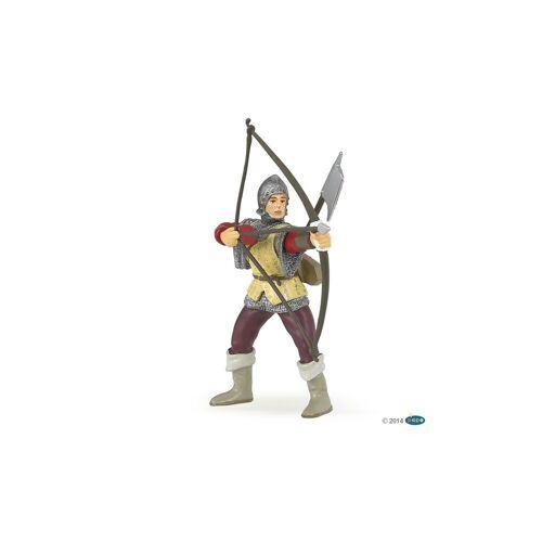 papo Spielfigur »Roter Bogenschütze mit Hellebarde«