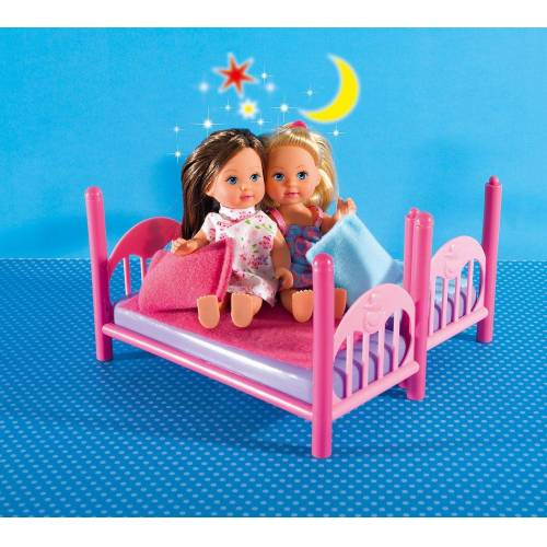 SIMBA Anziehpuppe »Evi LOVE Doppelstockbett, 2 Puppen«