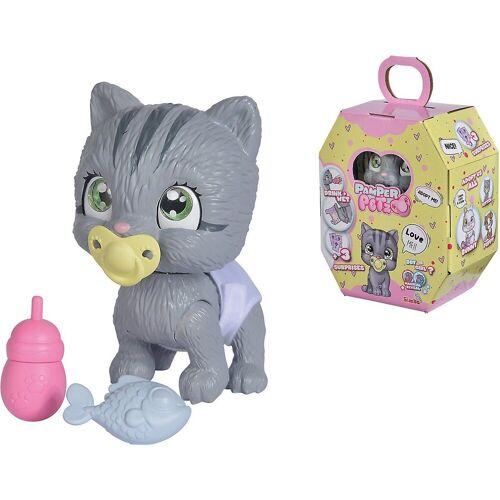 SIMBA Tier-Beschäftigungsspielzeug »Pamper Petz Katze«, grau
