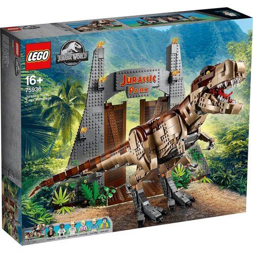 Lego ® 75936 Jurassic World™: Jurassic Park - T. Rex' Verwüstung