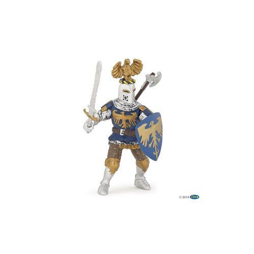 papo Spielfigur »Blauer Ritter mit Adlerhelm«