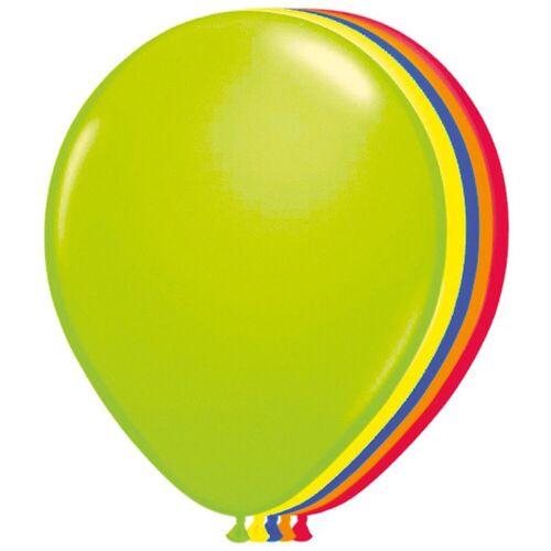 Folat Luftballon »Luftballons Neon, 50 Stück«