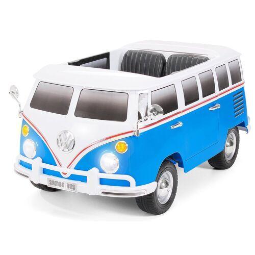Actionbikes Motors Spielzeug-Auto »Kinder Elektroauto VW Bus Bulli T1«, für 2 Kinder - inkl. Fernbedienung, Weiß Blau