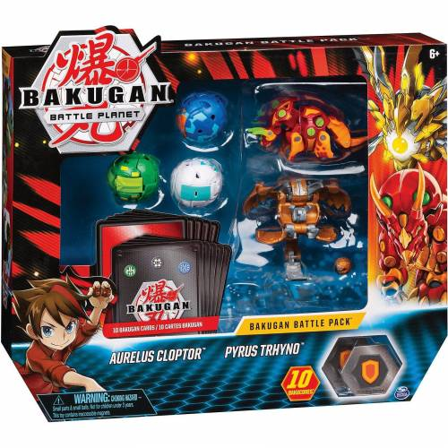 Spin Master Bakugan Battle-Pack mit 5 Bakugan (Mix 12)