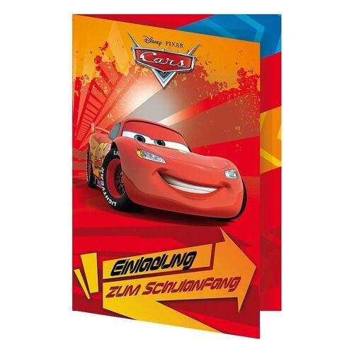 Nestler Geburtstagskarte »Einladungskarte Cars, 5 Stück, inkl. Umschlag«