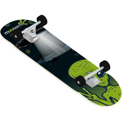 Muuwmi Skateboard »Skateboard ABEC 5, Alien«
